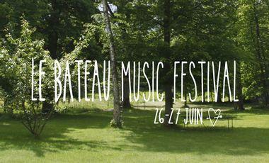 Project visual LE BATEAU MUSIC FESTIVAL