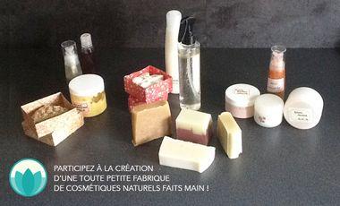 Project visual Lisoti, cosmétiques naturels faits main