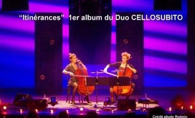 Visuel du projet DUO CELLOSUBITO 1ER ALBUM