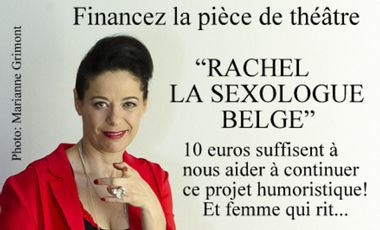 Project visual Rachel la sexologue belge sur les planches !
