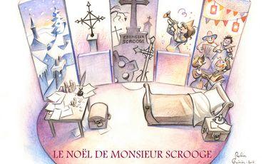 Project visual Scrooge : Spectacle de Noël