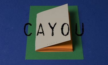 Visuel du projet les cahiers CAYOU