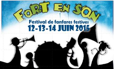 Project visual Fort En Son, festival de fanfares festives à Grenoble