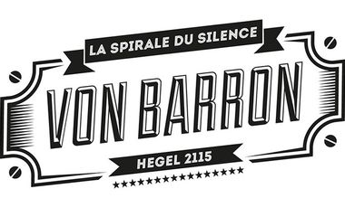 "Visueel van project Von Barron ""La Spirale du Silence"""