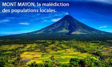Visueel van project Mont Mayon, la malédiction des populations locales.