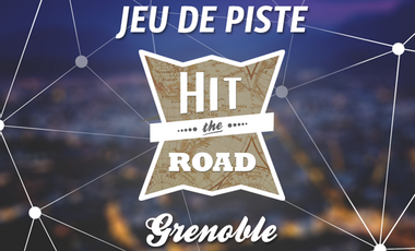 Visueel van project Hit The Road - Projet étudiant