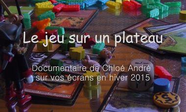 Visuel du projet Le jeu sur un plateau