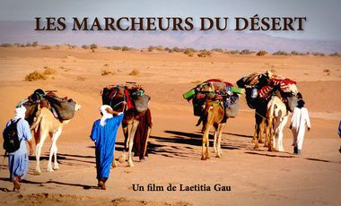 Project visual Les Marcheurs du Désert