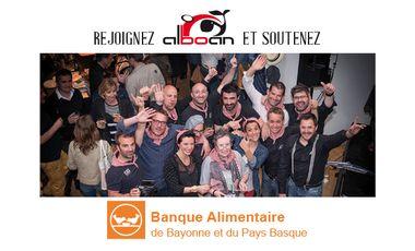 Project visual SOUTENEZ AVEC NOUS LA BANQUE ALIMENTAIRE DU PAYS BASQUE !
