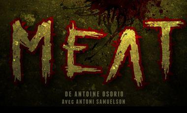 """Visuel du projet """"Meat"""", court métrage d'horreur"""