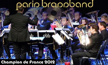 Visueel van project Le Paris Brassband au championnat d'Europe