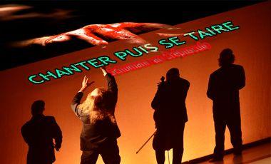 Project visual Emporté par La Houle,  le spectacle CHANTER PUIS SE TAIRE part au festival d'Avignon! Soyez avec nous!