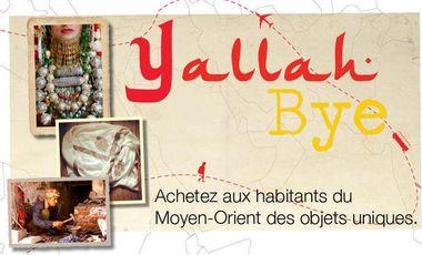 Visueel van project Yallah Bye