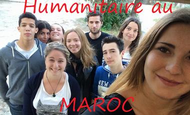 Visueel van project Projet humanitaire au Maroc