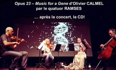 Project visual Opus 23 - Music for a Gene : réalisation d'un documentaire audio