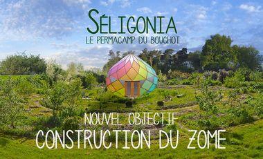 Visuel du projet Séligonia, le Permacamp du Bouchot
