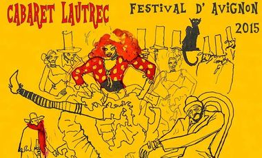 Visueel van project Cabaret Lautrec - Avignon 2015