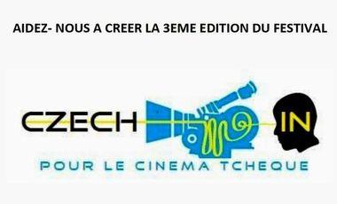 Visueel van project Aidez à créer le Czech-In Film Festival à Paris !