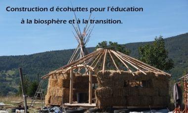 Project visual Construction d'écohuttes pour l éducation à la biosphère et à la transition