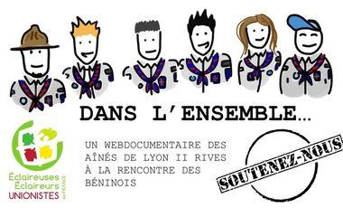 Project visual Aidez les Aînés de Lyon 2 Rives à réaliser leur documentaire au Bénin !