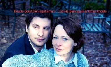 Project visual Double projet d'enregistrement : Ludmila Berlinskaia & Arthur Ancelle