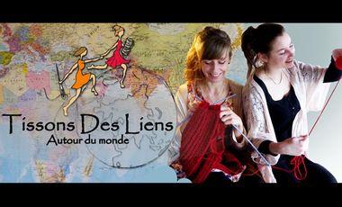 Project visual Tissons Des Liens autour du monde