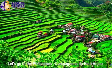 Visueel van project Let's go to the Philippines - Projet des compagnons du Haut-Anjou