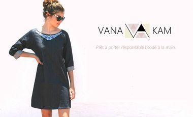Visuel du projet Vana Kam | Prêt à porter responsable brodé à la main