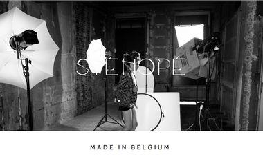 Visuel du projet Sténopé - Marque de prêt-à-porter pour femmes.