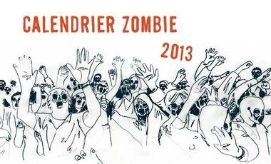 Visuel du projet Calendrier Zombie 2013