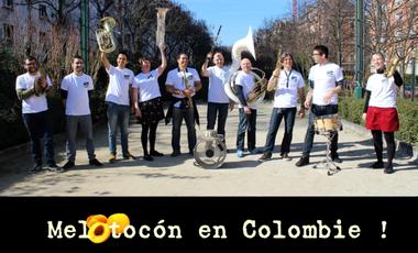 Visueel van project Melotocón en Colombie !