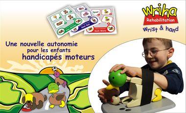 Project visual Une nouvelle autonomie pour les enfants handicapés moteurs (phase 1)