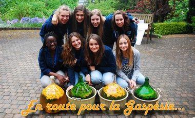 Visueel van project En route pour la Gaspésie....