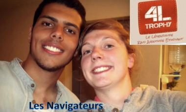 Visueel van project Les Navigateurs - 4L Trophy 2016