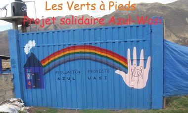 Visuel du projet Projet solidaire Azul-Wasi  Pérou 2015