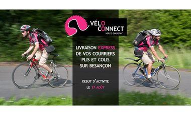 Project visual Véloconnect, votre coursier bisontin