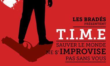Project visual TIME: le spectacle d'improvisation ! Avignon off 2015