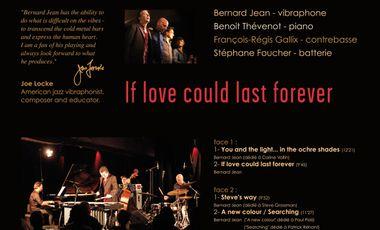 Project visual Bernard Jean 4tet en vinyl collector