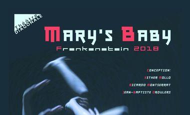 Project visual MARY'S BABY - FESTIVAL D'AVIGNON