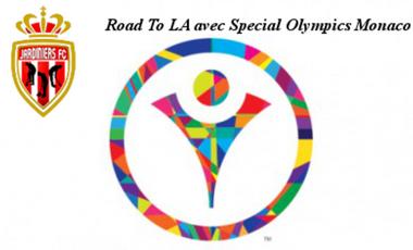 Visuel du projet Road to LA avec Special Olympics Monaco