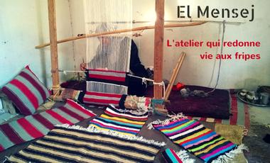 Project visual El Mensej, l'atelier qui redonne vie aux fripes