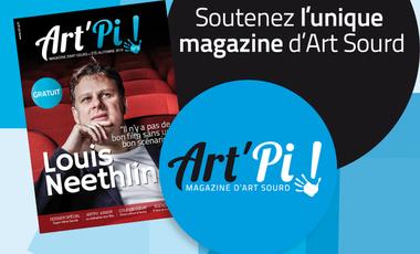 Visueel van project Art'Pi ! magazine d'Art Sourd