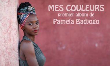 Visueel van project Mes couleurs - 1er album de Pamela Badjogo