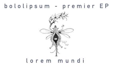 Project visual bololipsum - Lorem Mundi (EP)