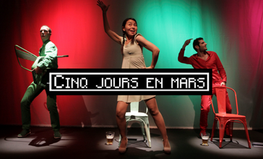 Visueel van project CINQ JOURS EN MARS - Avignon OFF 2015