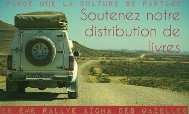 Project visual Pré-inscription au Rallye Aïcha des Gazelles