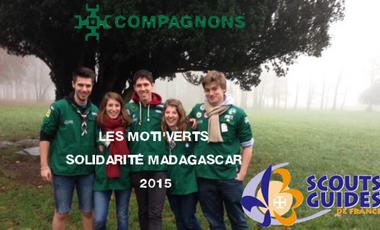 Visuel du projet Les Moti'verts Solidarité SGDF Madagascar 2015