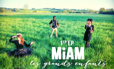 Visueel van project 1er EP du groupe MiAM