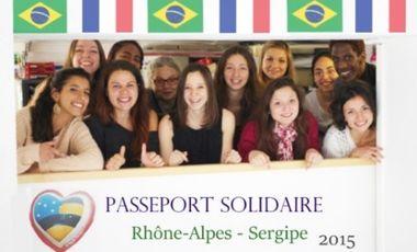 Visuel du projet Passeport Solidaire Rhône-Alpes – Sergipe