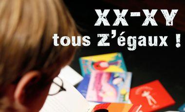 Visueel van project XX-XY, tous Z'égaux